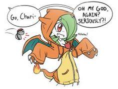 Vá, Charizard!  por RakkuGuy