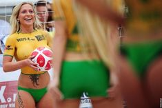 Ultimate World Cup Body Paint Gallery