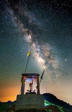 Milky Way Temple in India Location: Mcleod Gan, Dharamsala, Himachal Pradesh,…