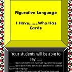Teachers,      This document will help your students identify different forms of figurative language, and this document will also help them ident...