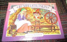 RUMPELSTILTSKIN POP-UP STORYBOOK BY LANDOLL'S, GREAT READ, GUC