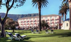 Mount Nelson Hotel, Cape Town #CapeTownHotels Mauritius, Maldives, Cape Town Hotels, Beach Holiday, Strand, South Africa, Dolores Park, Mansions, House Styles
