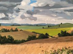 Learn how to paint grasses in #acrylics with Jon Cox as part of our #landscapes academy. Coming soon to ArtTutor.