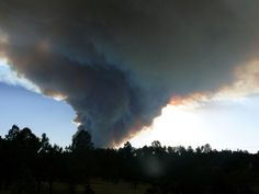 Fire Storm in New Mexico