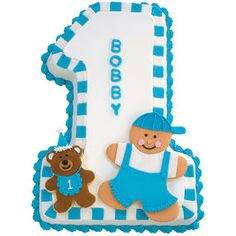 One For My Baby Boy Cake