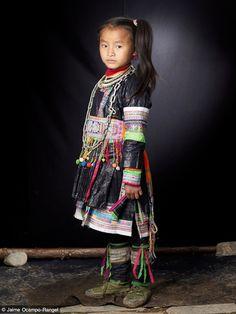 Southern China | Miao girl.  Miao Mountains |  | ©Jamie Ocampo-Rangel