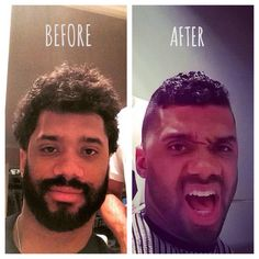 Russell Wilson Haircut Style