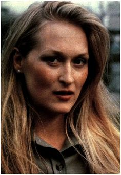 "meryl streep:  The actress attributes part of her success to the fact that she ""was never cute"".  ""When I was a younger actress that wasn't the first thing about me."" [so as she got older she didn't lose what made her special]."