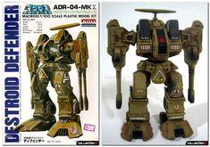 Robotech: Defender ADR 04 mk series figure.