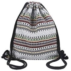 Galaxy Print Bag Drawstring Backpack Gym Swim School Sport Shoe Dance Tote Bag