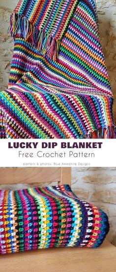 Scrap Yarn Crochet, Diy Crochet, Crochet Crafts, Crochet Projects, Crochet Summer, Yarn Projects, Afghan Crochet Patterns, Crochet Stitches, Knitting Patterns