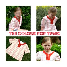 sewing tutorial: colour pop tunic
