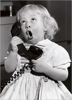 What A Woman Says About It: Una pò di Buone Maniere al Telefono.