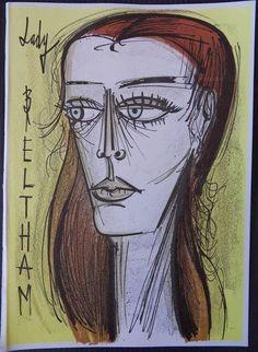 Bernard Buffet - Lady Beltram