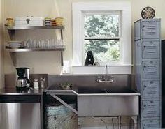 Kleine keuken maar volledig goed ingericht