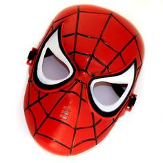 10Pcs / Lot Cosplay Glowing Spiderman/ Spider Man Mask Make up Toy for Kids Boys Special wholesale-inParty Masks from Home & Garden on Aliexpress.com | Alibaba Group