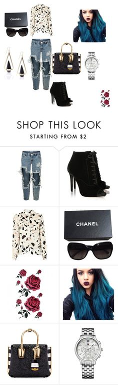 """""""Untitled #21"""" by dani-379 ❤ liked on Polyvore featuring moda, One Teaspoon, Tabitha Simmons, SECOND FEMALE, Chanel, MCM, Tommy Hilfiger, women's clothing, women e female"""