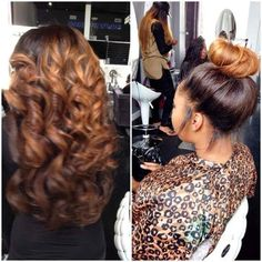Need Sew In Ideas? – 17 More Gorgeous Weaves Styles You Can Try For Your Next Sew In [Gallery] Some girls love a gorgeous sew in, check out 17 looks we found that you can try the next time you get your weave done Sew In Hairstyles, Pretty Hairstyles, Straight Hairstyles, Casual Hairstyles, Protective Hairstyles, Celebrity Hairstyles, Wedding Hairstyles, Make Up Tools, Love Hair