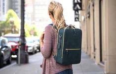 Backpacks, Cool Gadgets, Cork, Leather Backpack, Fashion Backpack, Bags, Handbags, Leather Backpacks, Backpack