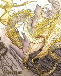 Viserion - From the Official Game of Thrones Coloring Book Game Of Thrones Books, Game Of Thrones Dragons, Game Of Thrones Houses, Dany's Dragons, Game Of Thrones Instagram, Game Of Trones, Dragon Games, Legendary Creature, Game Of Thrones