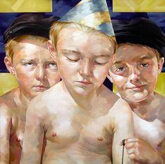 Artist Valery Koroshilov