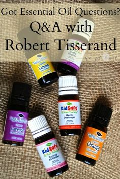 Clearing up Essential Oil Concerns: Q&A with Robert Tisserand, a leading expert in aromatherapy and essential oil safety.  I learned so much!