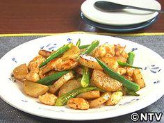長芋とオクラのバターポン酢炒めのレシピ|キユーピー3分クッキング