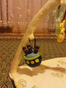 Filcowe zabawki