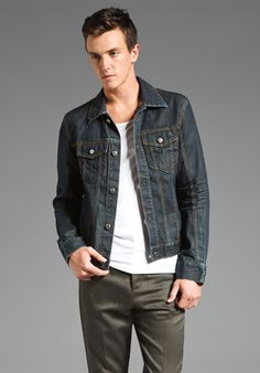 BLK DNM Jean Jacket 5 in Stntn Blue at Revolve Clothing