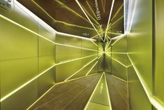 Parc Central showroom by Andy Tong Interiors, Guangzhou China showroom store design Space Interiors, Shop Interiors, Lead Architecture, Arch Light, Retail Interior Design, Exhibition Booth Design, Geometric Form, Club Design, Guangzhou