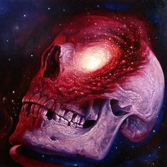 /// Christain Perez #Skull #Galaxy #Tattoo