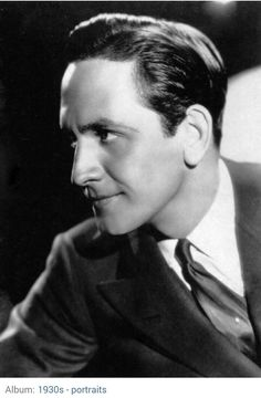 A young Fredric March, so handsome