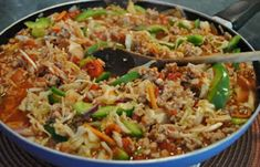 Wan Tan, Food Crush, Fried Rice, Summer Recipes, Food And Drink, Low Carb, Favorite Recipes, Lunch, Ethnic Recipes