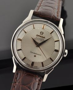 Vintage 1964 OMEGA Constellation cal. 551 COSC with pie-pan dial