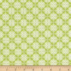 Feathers & Flourishes Flourish Loops Lime from @fabricdotcom  Designed by Amanda Murphy for Benartex, this cotton print is perfect for quilting, apparel, and home decor accents. Colors include lime green, white and grey.
