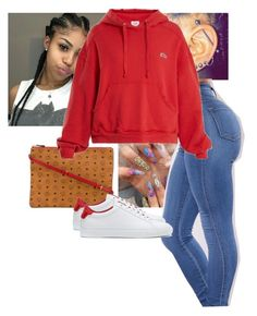 """""""Lil sum sum"""" by jaylapool1 on Polyvore featuring MCM, RE/DONE and Givenchy"""