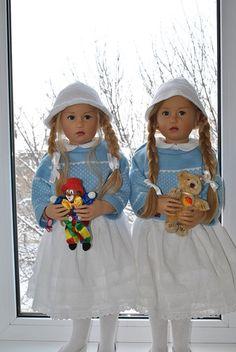 Двойное счастье. Karoline от Sissel Skille / Коллекционные куклы Sissel Bjorstadt Skille / Бэйбики. Куклы фото. Одежда для кукол