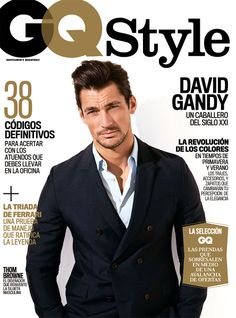 Cover GQ Style Mexico Spring 2014 Feat David Gandy