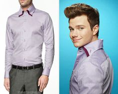 Kurt's exact shirt was from Zara's 2011/12 season, but as luck would have it, they currently have an almost identical shirt available in several colors - trends do have a way of coming back around again!Zara Double Collar Structured Shirt - $59.90(various) Worn with: Paul Smith belt, Cole Haan bootsAlso worn in: 6x06 'What the World Needs Now' withPaul Smith belt