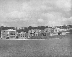 shefeld:rollestone primary school (now bankwood school), gleadless valley, sheffield  opened 1961 (ten years of housing in sheffield)