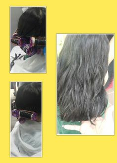 Natural wave perm