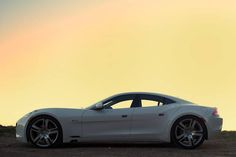 2012 Fisker Karma Road   The new plug-in hybrid integrates recycled materials with high design and performance to reach a class of its own