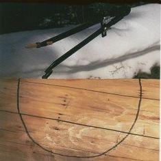 scribing house logs