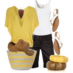 Bermuda Sun, created by christina-young on Polyvore