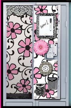 Glitter Lambs Blog: Locker Decorations