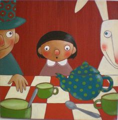 Tea Party - Lauranne Quentric