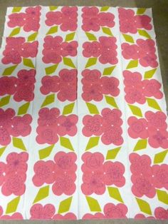 Tampella Finland 60's 70's Vintage Fabric Floral | eBay