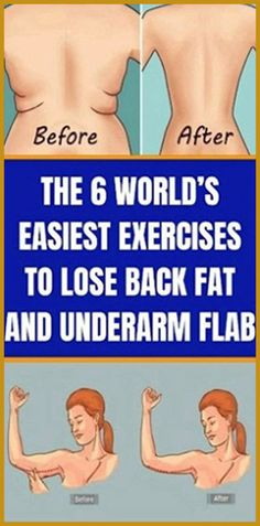 The 6 WorldÕs Easiest Exercises For Back Fat And Underarm Flab Gut Health, Health And Wellbeing, Health And Nutrition, Health Tips, Health Fitness, Holistic Remedies, Health Remedies, Natural Remedies, Mindfulness For Teachers