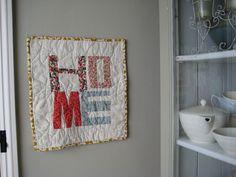 Home wall hanging | Flickr - Photo Sharing!