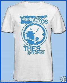 T-Shirt  Thessaloniki Thermaikos Griechenland Hellas Makedonia,